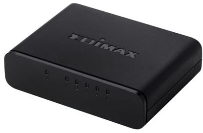 Picture of EDIMAX 5 Port 10/100 Fast Ethernet Desktop Switch.