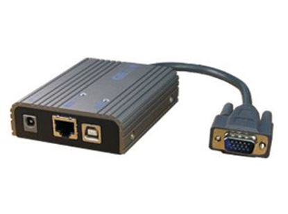 Picture of REXTRON VGA Extender over 100Mbps LAN. Support Full HD 1920x1080.