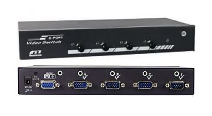 Picture of REXTRON 4 port VGA Switch with Audio & Serial Control