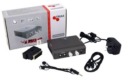 Picture of TRIAX Tri-Link Kit/RF Modulator with IR.