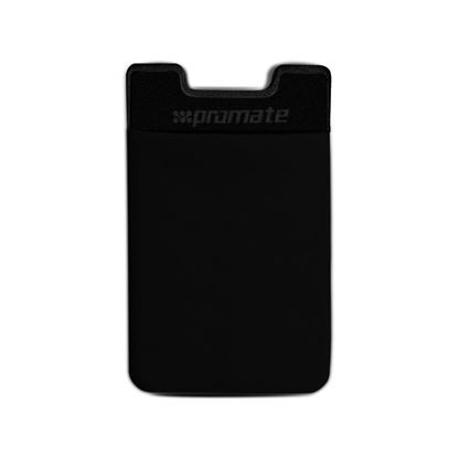 Picture of PROMATE Mobile Card Holder Sticker. Slim card pouch with 3M adhesive.