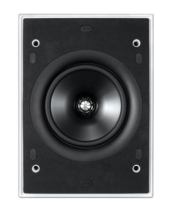 Picture of KEF Ultra Thin Bezel 6.5' Rectangular In-Wall/Ceiling Speaker