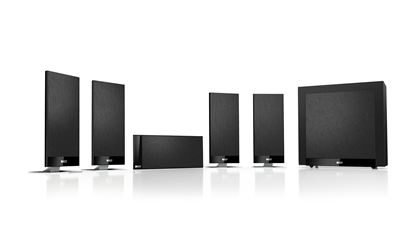 Picture of KEF Home Theatre Speaker System. Includes: 5x T101 for centre and