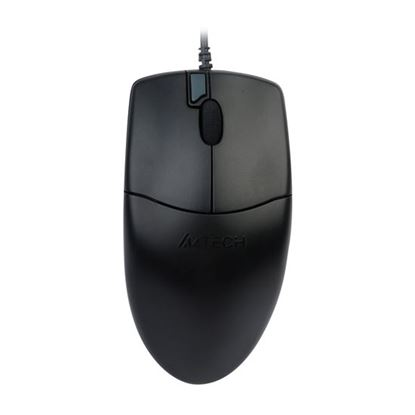 Picture of A4TECH 800DPI Wired USB Mouse. Ergonomic Design. Double Click