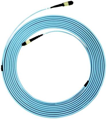 Picture of DYNAMIX 100M OS2 MPO ELITE Trunk Single mode Fibre Cable. POLARITY A