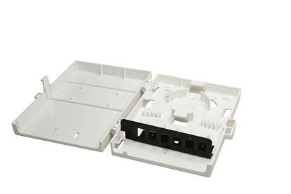 Picture of DYNAMIX Fibre Wall Enclosure 6 Port LC Duplex/SC Simplex Unloaded.
