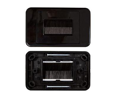 Picture of DYNAMIX AV Brush Plate. Colour Black