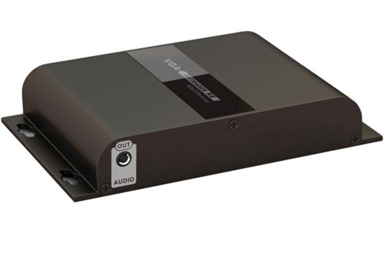 Picture of LENKENG VGA With 3.5mm Audio Extender. VGA & audio up to 120m.