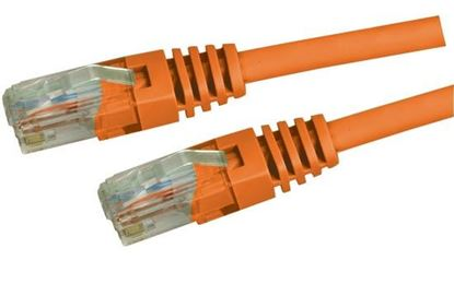 Picture of DYNAMIX 3m Cat5e Orange UTP Patch Lead (T568A Specification)