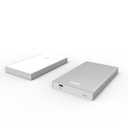 Picture of UNITEK USB 3.1 GenII USB-C to 2.5' SATA 6G SSD/HDD Enclosure