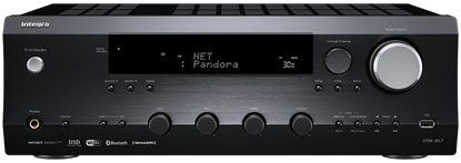 Picture of INTEGRA 2 Channel Stereo Network AV Receiver. Network streaming