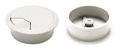Picture of DYNAMIX 60mm Desk Grommet IVORY