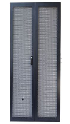 Picture of DYNAMIX 37RU Dual Mesh Pantry Style Door Kit for SR Series Cabinets