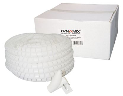 Picture of DYNAMIX 20mx20mm Easy Wrap - Cable Management Solution, Bulk Packed,