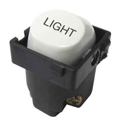 Picture of TRADESAVE 16A 2-Way Labelled LIGHT Mechanism. Suits all
