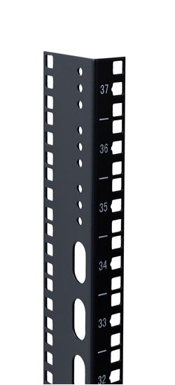 Picture of DYNAMIX 37U L-shaped mounting rail for 600mm width cabinets.
