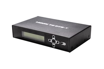 Picture of LENKENG HDMI to RF Digital Modulator with Loop Out Port PLUS