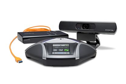 Picture of KONFTEL C2055 Conference Phone Bundle. Design for up to 12 People.