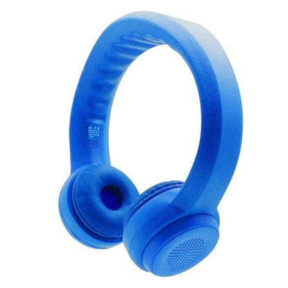 Picture of PROMATE Made for Kids Flex-Foam Wireless Stereo Headphones.