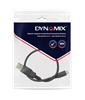 Picture of DYNAMIX 0.3m USB 2.0 Micro-B Male to USB-A Male Connectors.