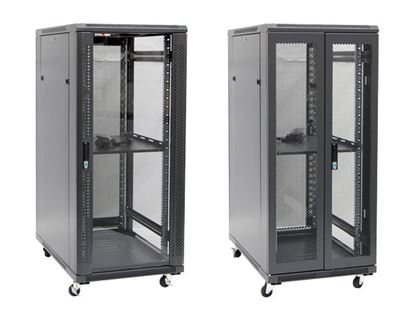 Picture of DYNAMIX 27RU Server Cabinet 1000mm Deep (600 x 1000 x 1410mm) Incl. 1x