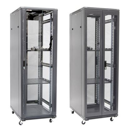 Picture of DYNAMIX 37RU Server Cabinet 600mm Deep (600 x 600 x 1853mm). Incl. 2x