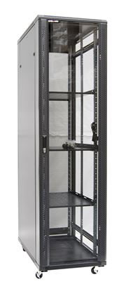 Picture of DYNAMIX 42RU Server Cabinet 1000mm Deep (600 x 1000 x 2077mm). Incl.3x