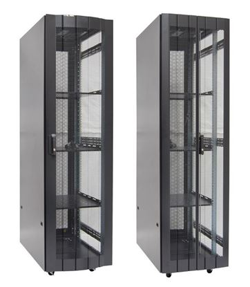 Picture of DYNAMIX 42RU Server Cabinet 1000mm Deep (600 x 1000 x 2081mm) Incl. 3x