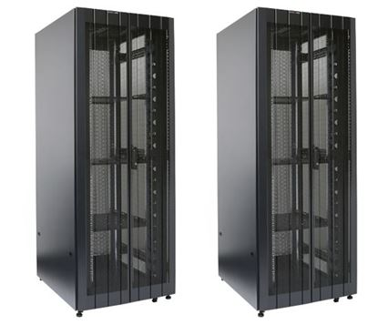 Picture of DYNAMIX 45RU Server Cabinet 1000mm Deep (800 x 1200 x 2181mm) 2x Front