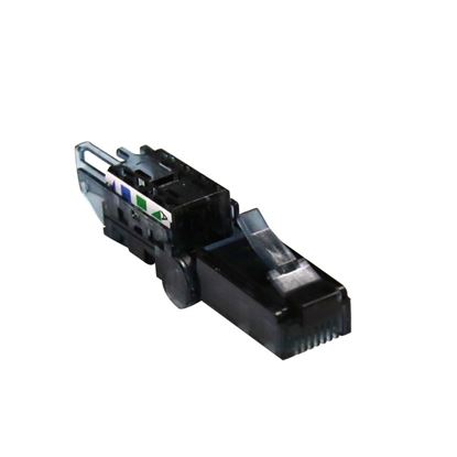Picture of DYNAMIX RJ45 UTP Cat6A Tooless Flexible Plug, Works with both