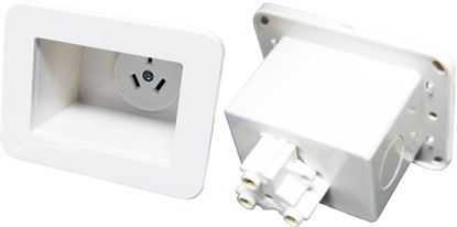 Picture of DYNAMIX Recessed Single Power Outlet