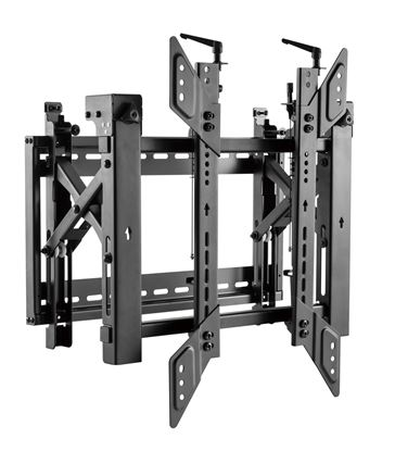 "Picture of BRATECK 45""-70"" Pop-Out Portrait Video Wall Bracket. Max Load: 70kg"