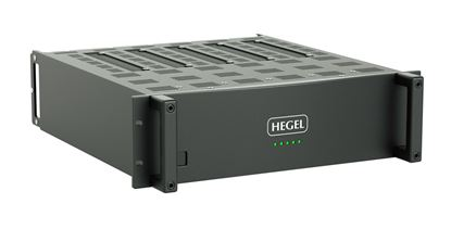 "Picture of HEGEL C54 Power Amplifier for 3U 19"" Rack Mount."