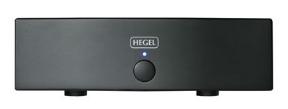 Picture of HEGEL H20 High-End Power Amplifier. 2x200W into 8 Ohm, Dual mono