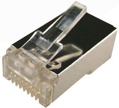 Picture of DYNAMIX Cat6 RJ45 20pc Bag, 8P8C Modular Plug 15U' with insert.