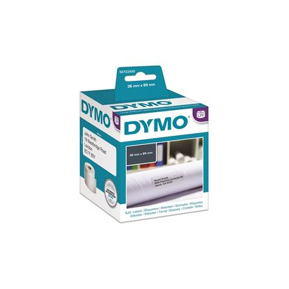 Picture of DYMO Genuine LabelWriter Address Labels (Self-Adhesive). 36mm x