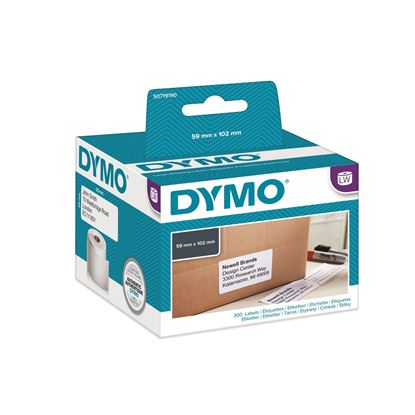 Picture of DYMO Genuine Labelwriter Large Shipping Labels. 1 Roll (300