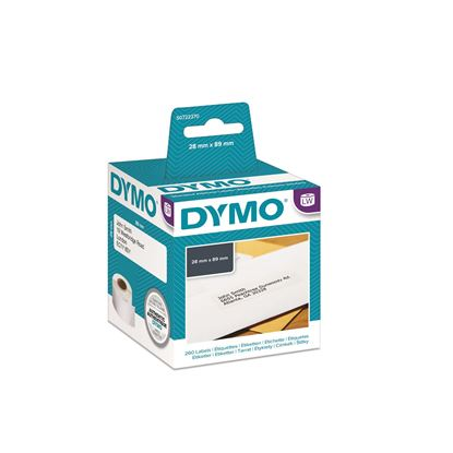 Picture of DYMO Genuine LabelWriter Address Labels (Self-Adhesive). 28mm x