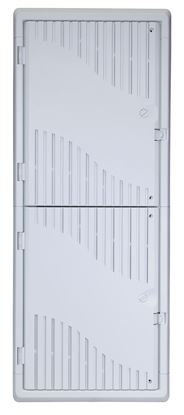 Picture of DYNAMIX 42' Recessed Plastic Network Enclosure, WiFi Ready,