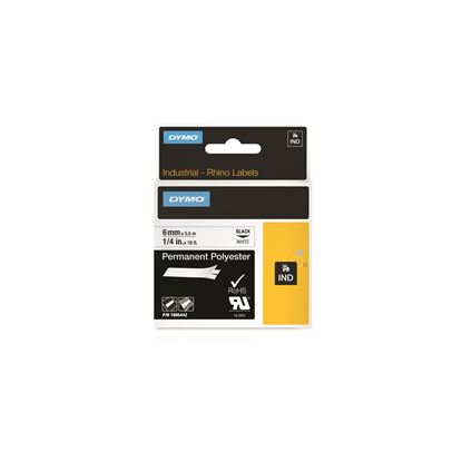 Picture of DYMO Genuine Rhino Industrial Labels-Permanent Polyester 6mm