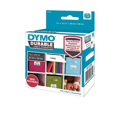 Picture of DYMO Genuine Durable LabelWriter Labels, 25mm x 54mm White Poly,