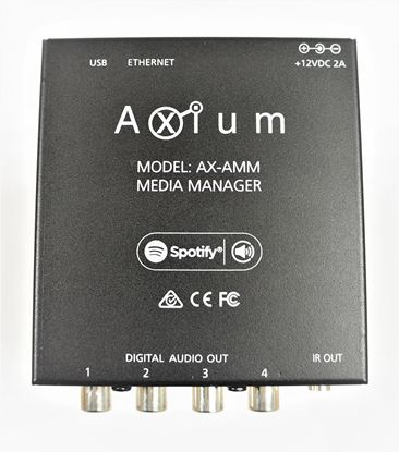 Picture of AXIUM Media Manager 4 Digital Coax and 8 network streams (12 streams