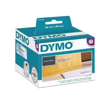 Picture of DYMO Genuine LabelWriter Large Address Labels 36mm x 89mm Clear