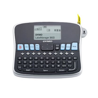 Picture of DYMO LabelManager 360D  Desktop Labeller,with QWERTY keyboard