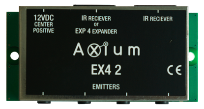 Picture of AXIUM 4 IR out Connecting block with powersupply connectionIR