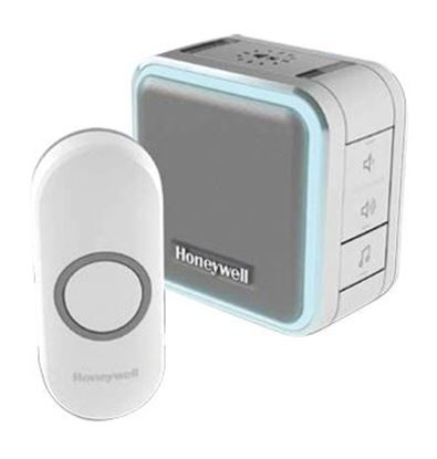 Picture of HONEYWELL Wireless Series 5 Portable Doorbell with Halo Light
