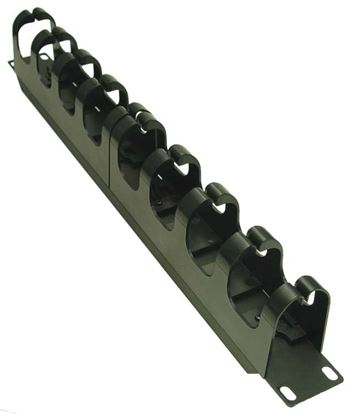 "Picture of DYNAMIX 19"" Cable Management Bar. Supplied with Cage Nuts."