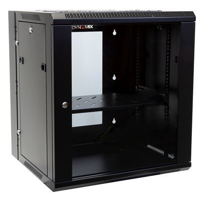 Picture of DYNAMIX 12RU 600mm Deep Universal Swing Wall Mount Cabinet. Removable