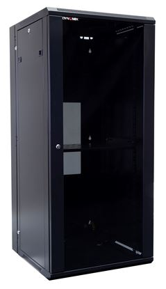 Picture of DYNAMIX 27RU 600mm Deep Universal Swing Wall Mount Cabinet. Removable