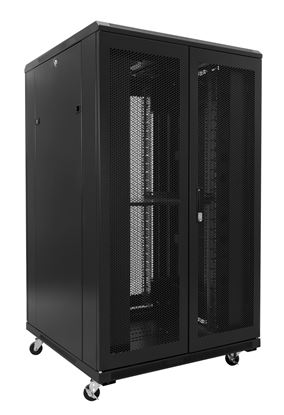 Picture of DYNAMIX 45RU Server Cabinet 800mm Deep (800 x 800 x 2210mm). Incl. 3x